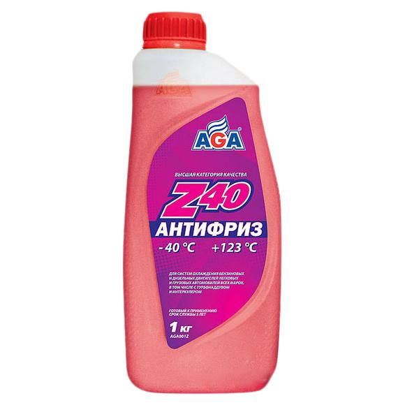 Антифриз AGA G11 красный 1л