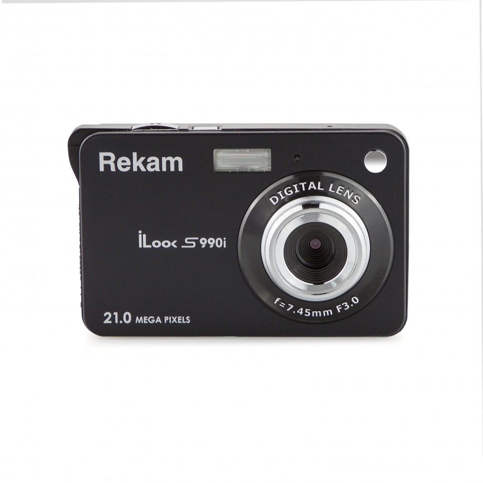 Фотоаппарат цифровой компактный Rekam iLook S990i iLook S990i Black Metallic