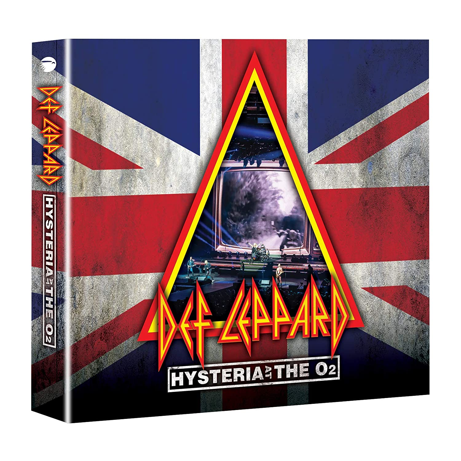 Def Leppard Hysteria At The O2 (2CD+DVD) по цене 2 830