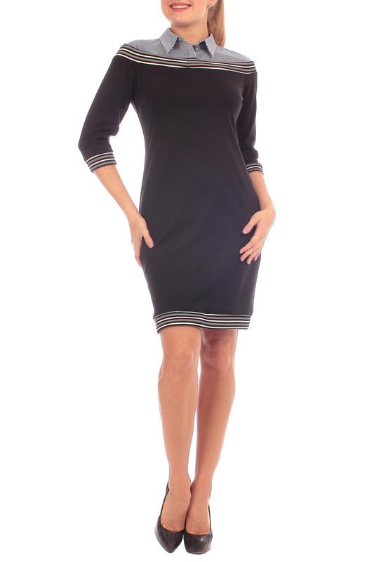 Платье женское Lamiavita ЛА-С526(02) черное 48 RU фото