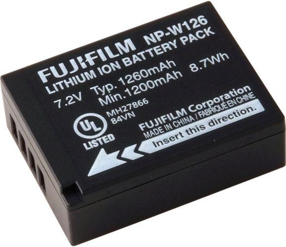 Аккумулятор Fujifilm F NP W126S C