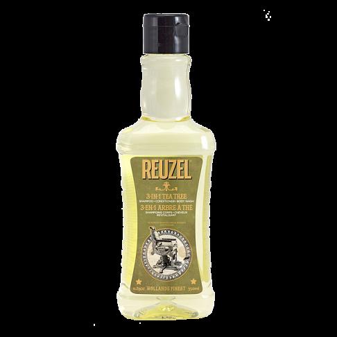 Купить Шампунь для волос Reuzel 3 в 1 Tea Tree Shampoo 350 мл