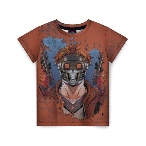 Купить 3D Звездный лорд - 2166419, Детская футболка ВсеМайки 3D Звездный лорд, размер 140, VseMayki.ru,
