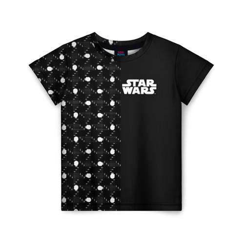 Купить 3D STAR WARS - 1686987, Детская футболка ВсеМайки 3D STAR WARS, размер 122, VseMayki.ru,