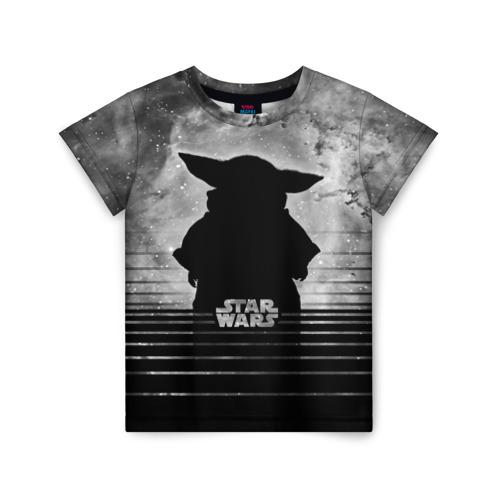 Купить 3D Child Yoda Star wars - 2147171, Детская футболка ВсеМайки 3D Child Yoda Star wars, размер 128, VseMayki.ru,