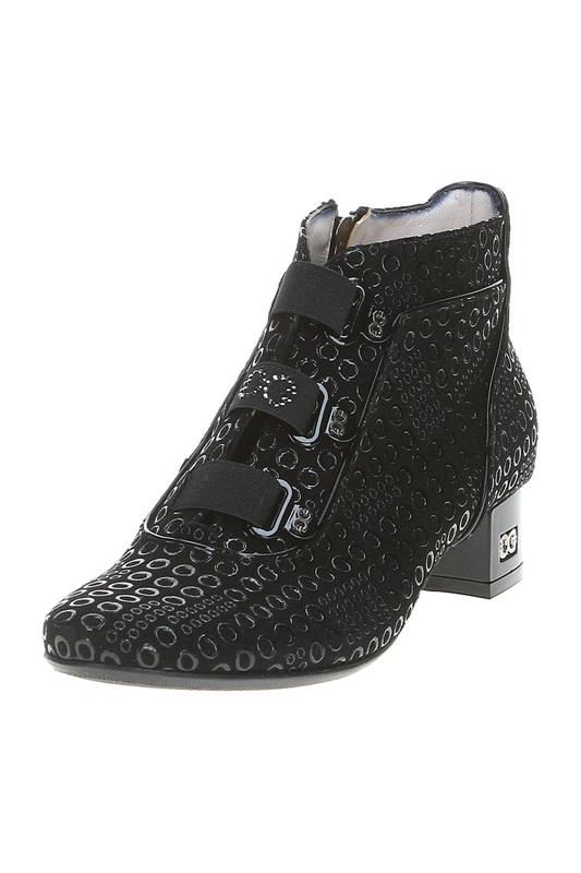 Ботинки женские Giada Gabrielli 4051 черные 36 RU.
