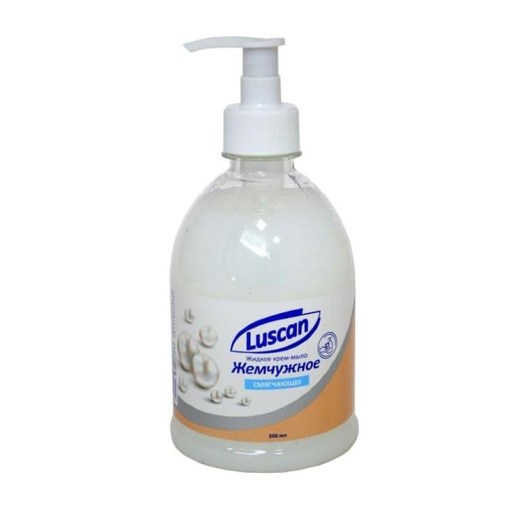 Купить Крем-мыло жидкое LUSCAN Жемчужное 500мл с дозатором