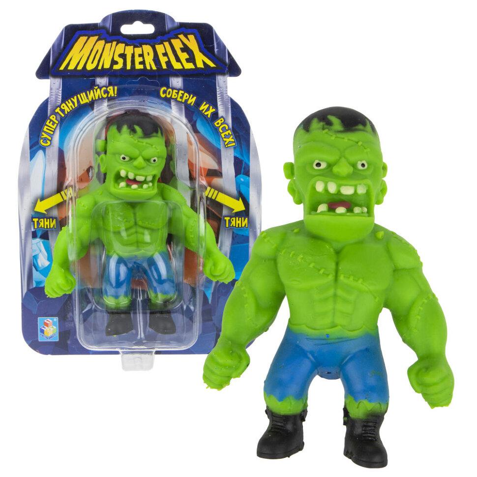 Купить Фигурка тянущаяся 1 TOY Monster Flex Франкенштейн, 15 см, Игровые наборы