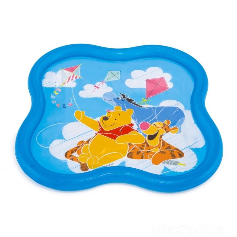 Купить Бассейн Intex Disney Винни-Пух, 140х140х10 см, 115 л, Детские бассейны