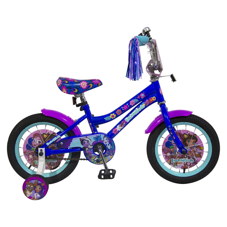 Велосипед 1 TOY ВН14195 Enchantimals 14'' 1toy