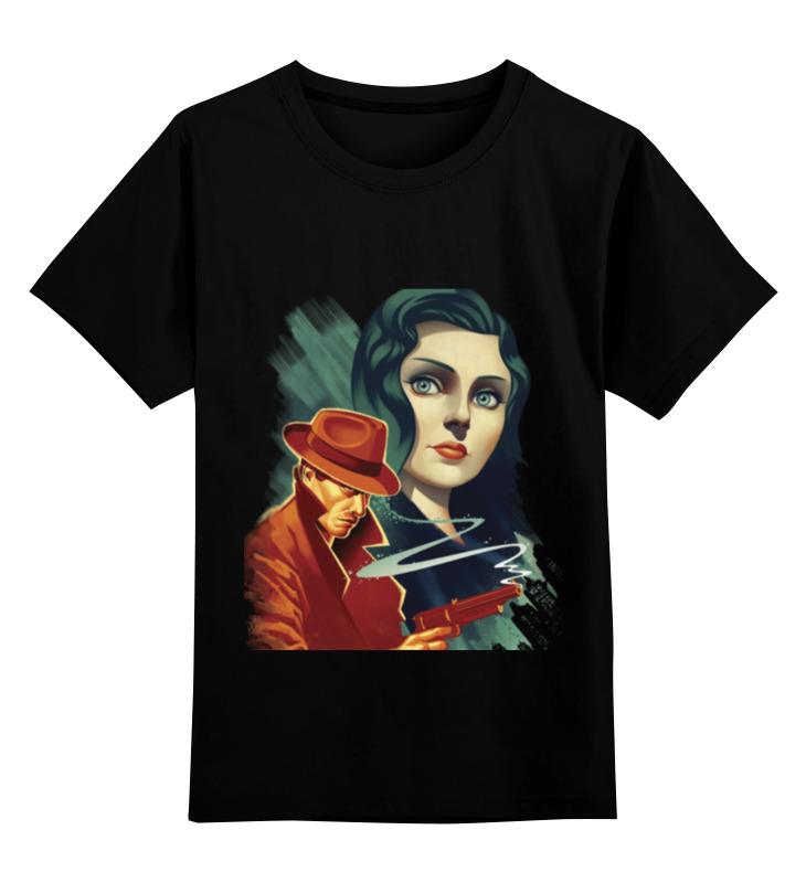 Детская футболка Printio Bioshok цв.черный р.140 0000000732245 по цене 990