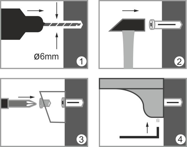 Держатель для аксессуаров для ванной WasserKRAFT Kammel K-8326