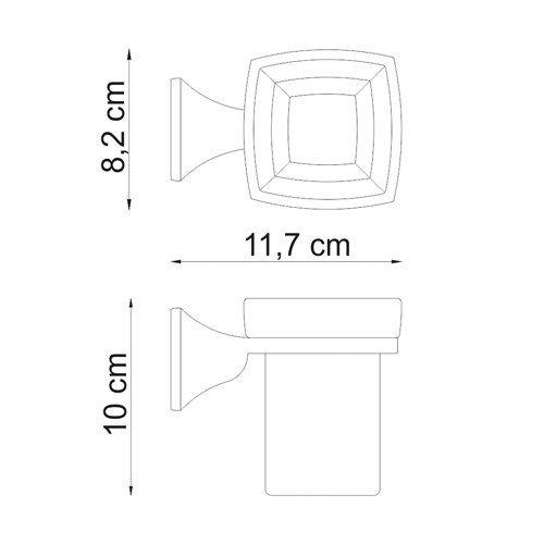 Держатель для аксессуаров для ванной WasserKRAFT Wern K-2528