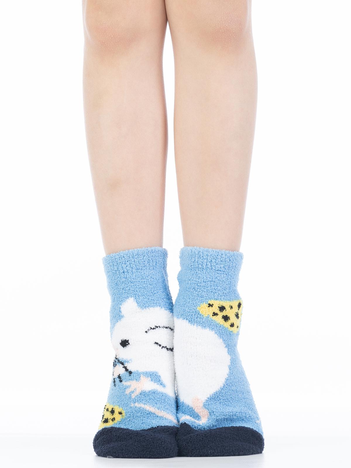 Купить 3340-6, Носки детские Hobby Line, цв. голубой р.16-18,