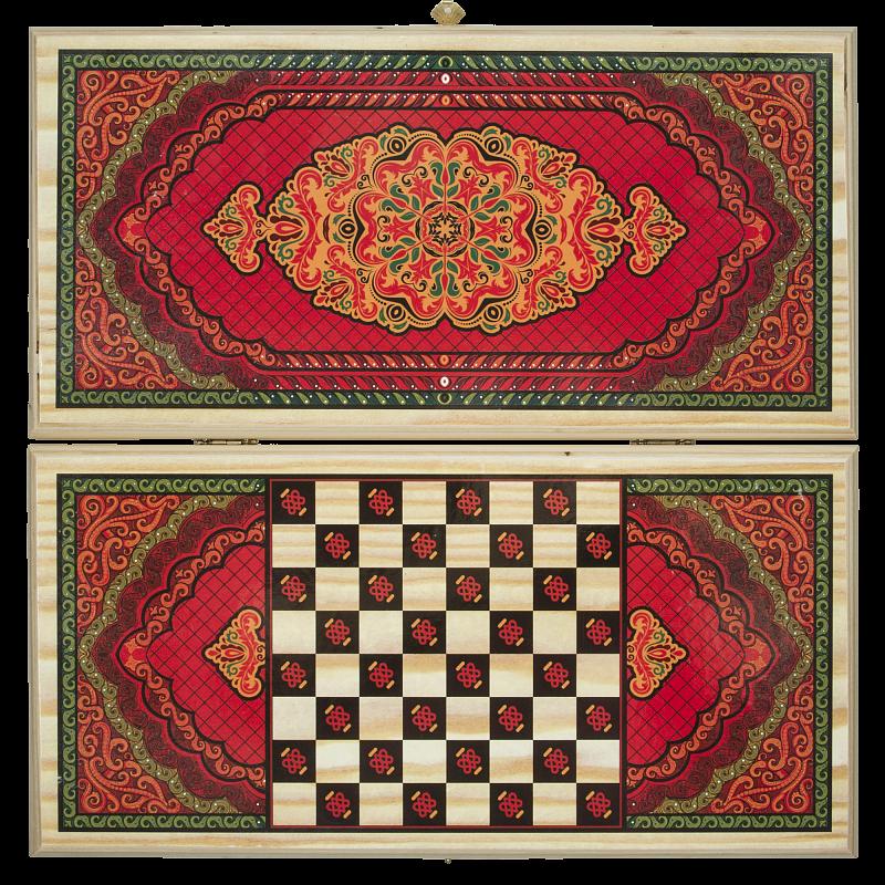 Набор Play at Home Нарды и шашки