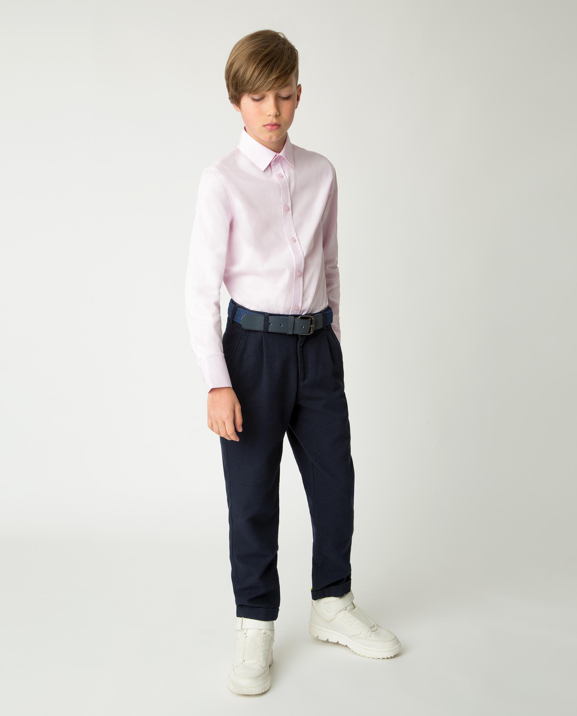 Купить Розовая рубашка Gulliver 220GSBC2304, размер 170, Рубашки для мальчиков