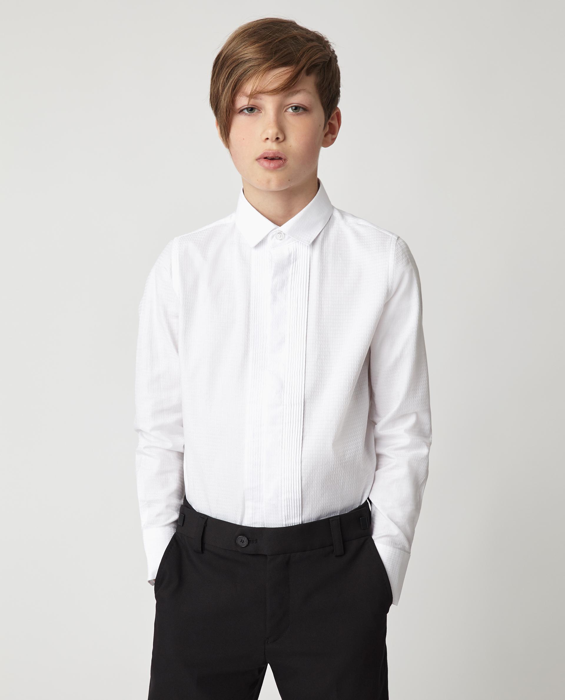 Купить Белая рубашка Gulliver 220GSBC2316, размер 170, Рубашки для мальчиков