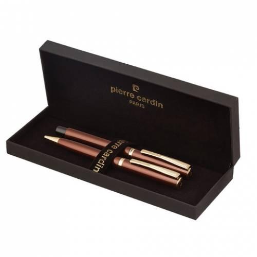 Набор подарочный Pierre Cardin Pen#and#Pen - Red, ручка шариковая + ручка роллер