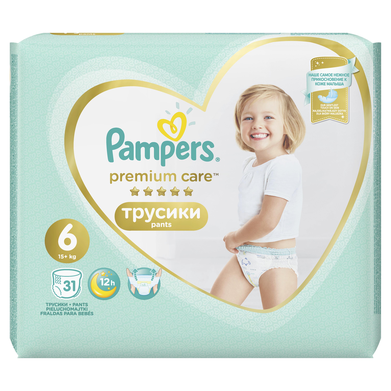 Трусики Pampers Premium Care 6 (15+ кг),