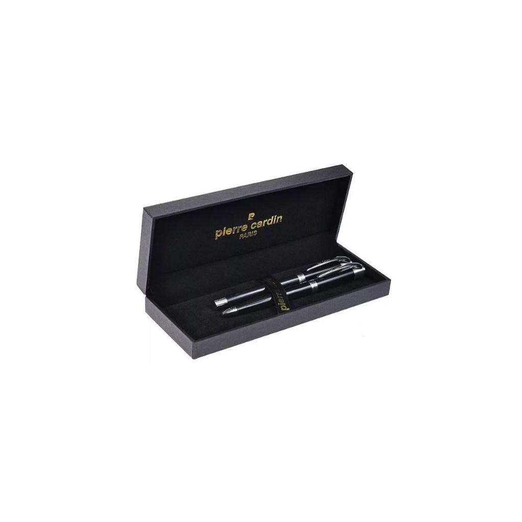 Набор подарочный Pierre Cardin Pen#and#Pen - Black, ручка шариковая + ручка роллер