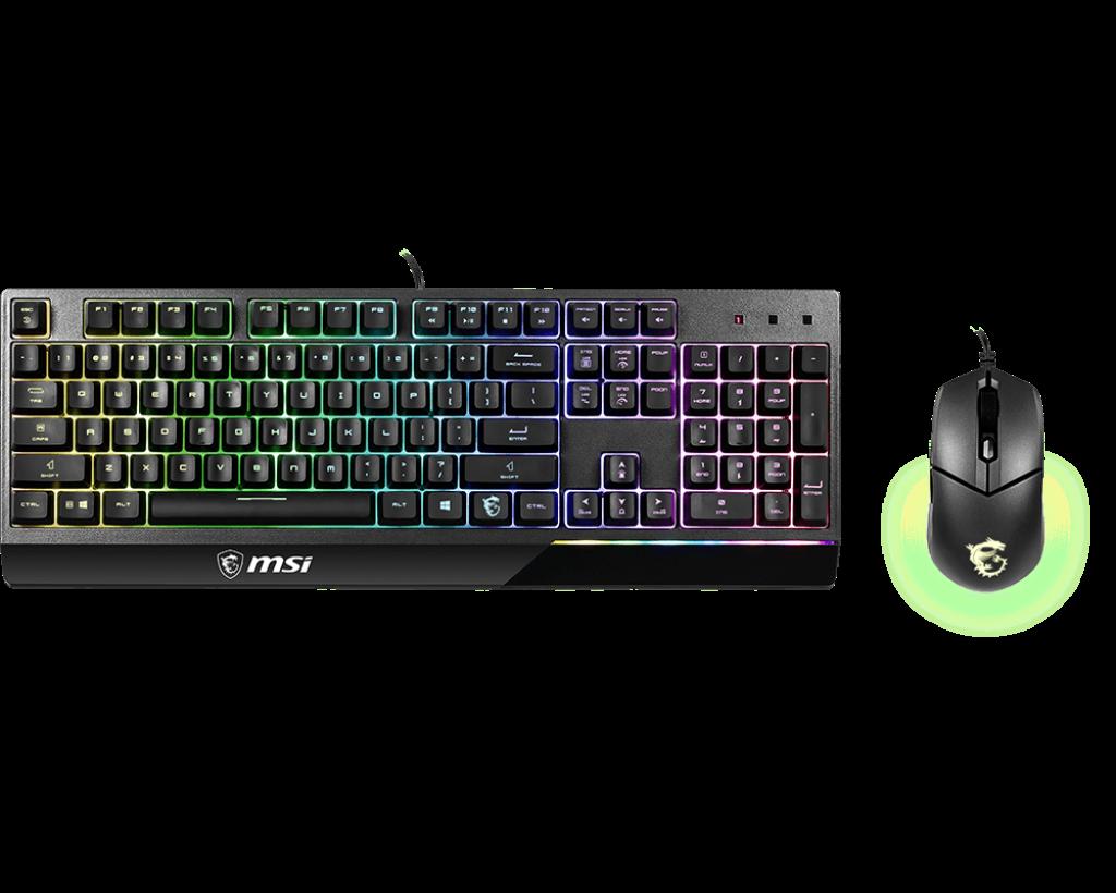 Комплект клавиатура и мышь MSI VIGOR GK30