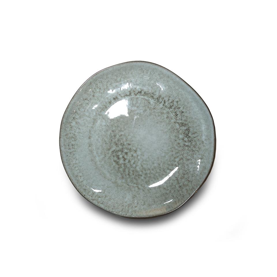 Тарелка, Vista Alegre, Nimbus, Каменная керамика, 23 см, серая