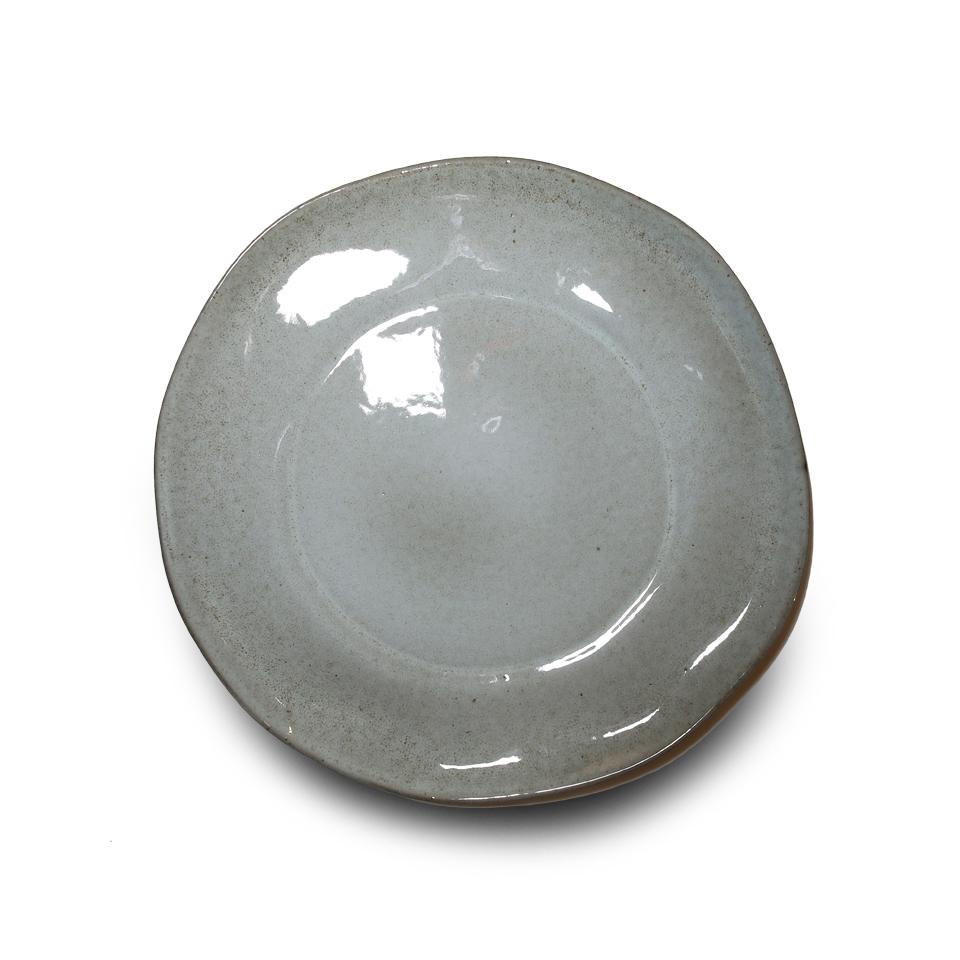 Тарелка, Vista Alegre, Nimbus, Каменная керамика, 28 см, серая