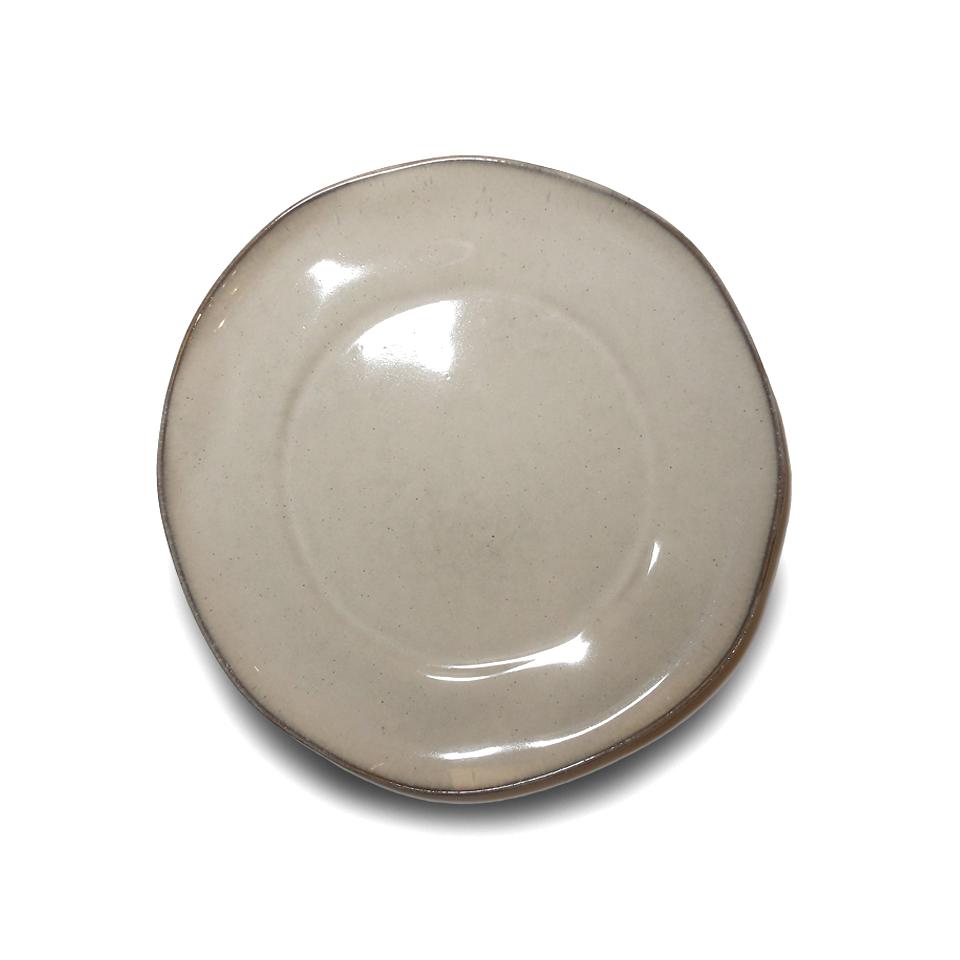Тарелка, Vista Alegre, Nimbus, Каменная керамика, 28 см, бежевая