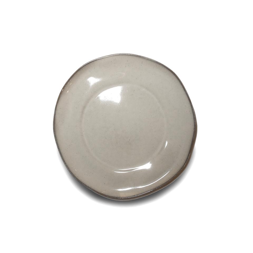 Тарелка, Vista Alegre, Nimbus, Каменная керамика, 23 см, бежевая