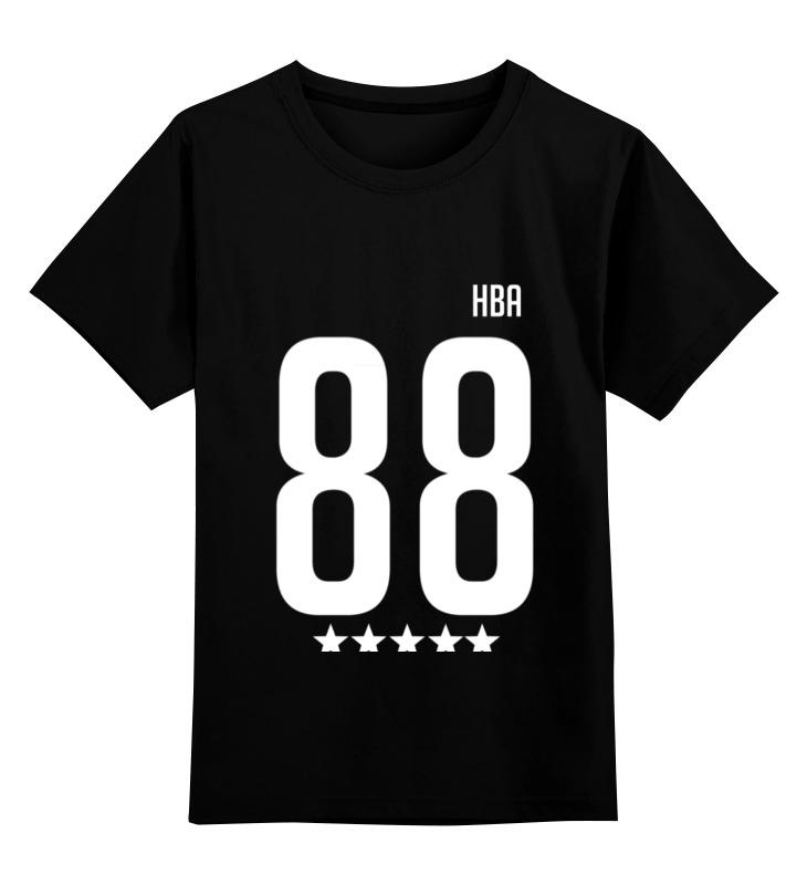 Детская футболка Printio Hood by air 88 rocky цв.черный р.164 0000000721279 по цене 1 190