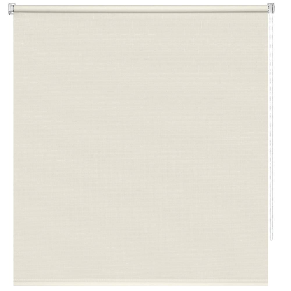 Рулонная штора Decofest Миниролл Апилера Кремово-бежевый 100x160 160x100 см