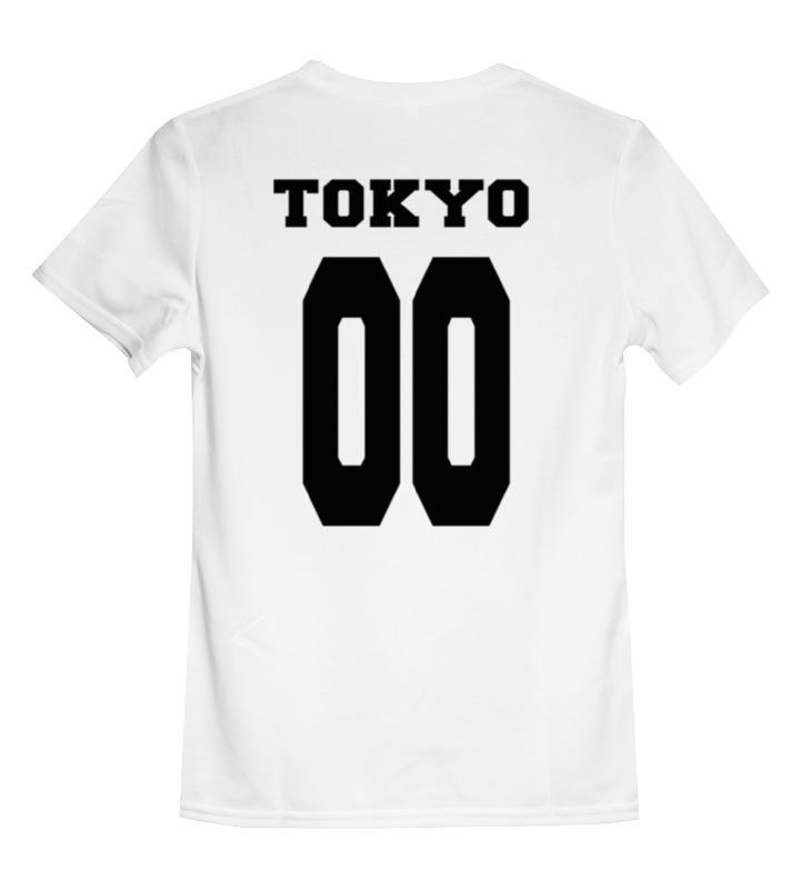 Детская футболка классическая Printio Tokyo 00, р. 164