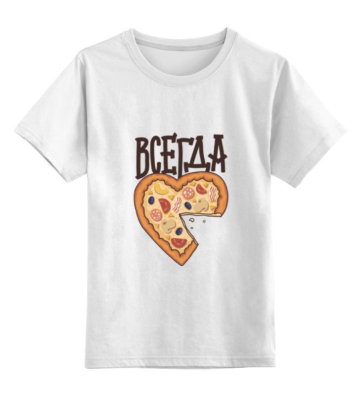 Купить 0000000724358, Детская футболка Printio Без названия цв.белый р.104,