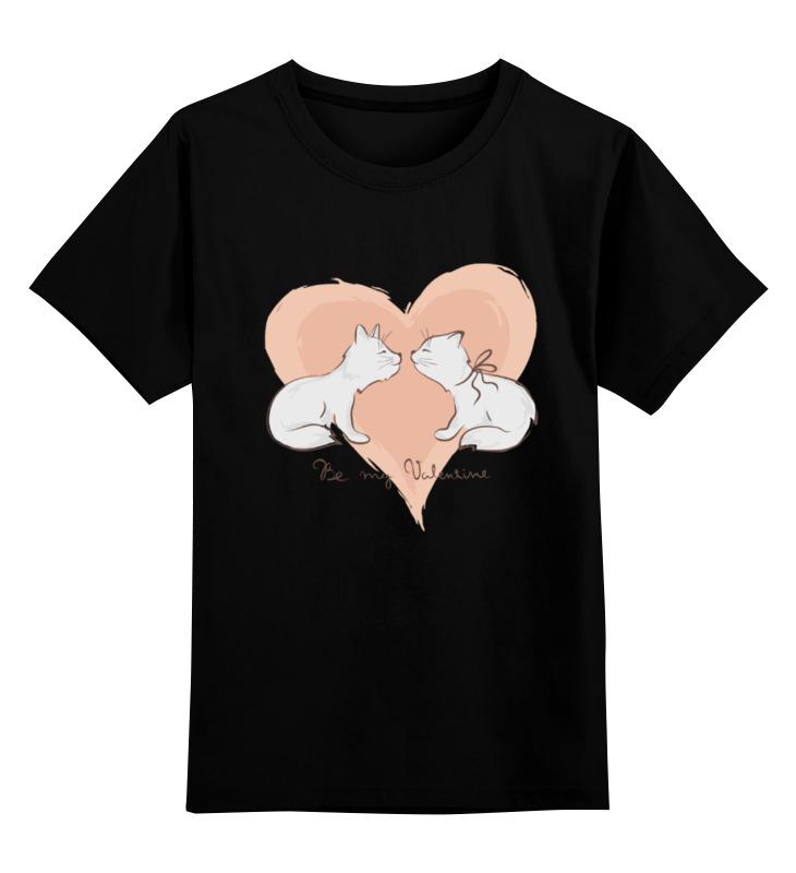 Купить 0000000721403, Детская футболка Printio Без названия цв.черный р.104,