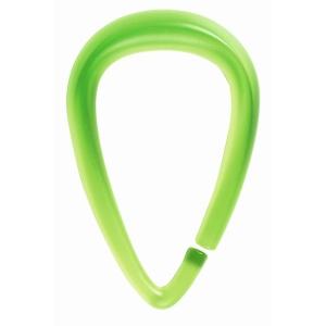 Кольца для штор Drop зелёные, 12 шт