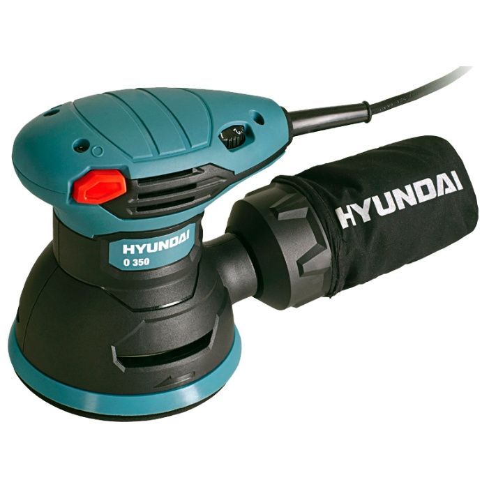 Сетевая эксцентриковая шлифовальная машина HYUNDAI O 350
