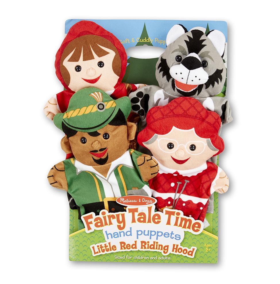 Купить Плюшевые куклы Melissa & Doug Красная шапочка,