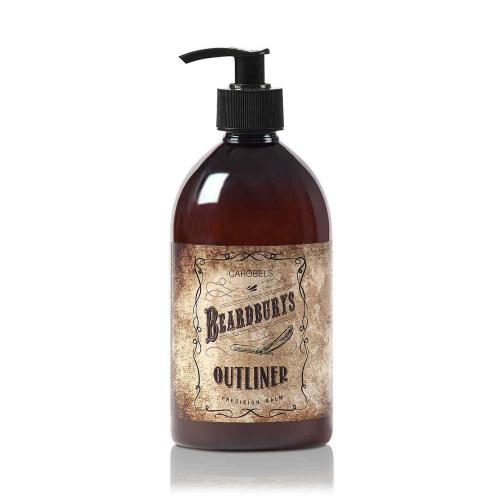 Бесцветный бальзам для контурного бритья Beardburys 500 мл по цене 3 220