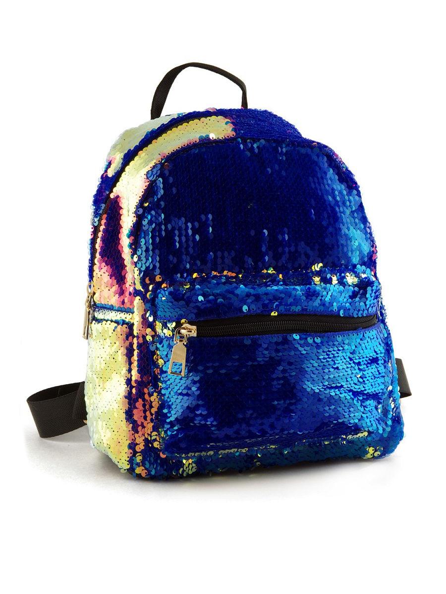 Рюкзак детский Tiko перламутровый с пайетками перевертышами