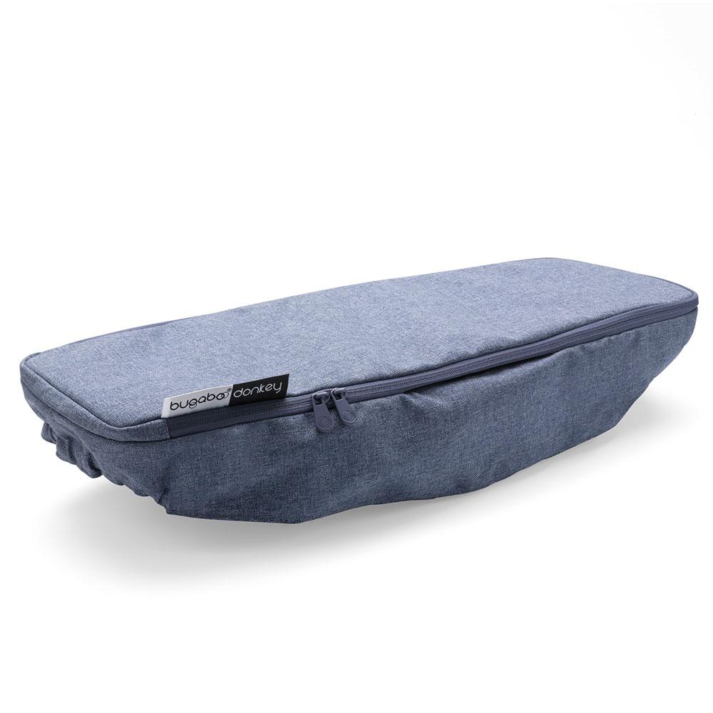 Купить Чехол для боковой корзины Bugaboo Donkey 2 BLUE MELANGE, Комплектующие для колясок