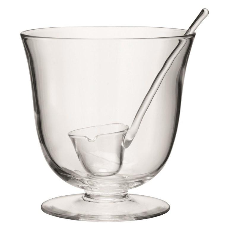 Чаша для пунша с половником Serve,