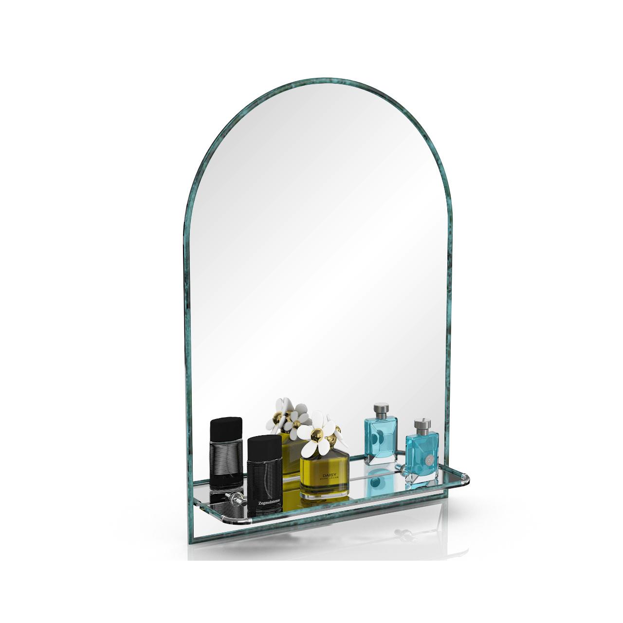 Зеркало ЕвроЗеркало 330ПМ малахит, 55х80 см.,