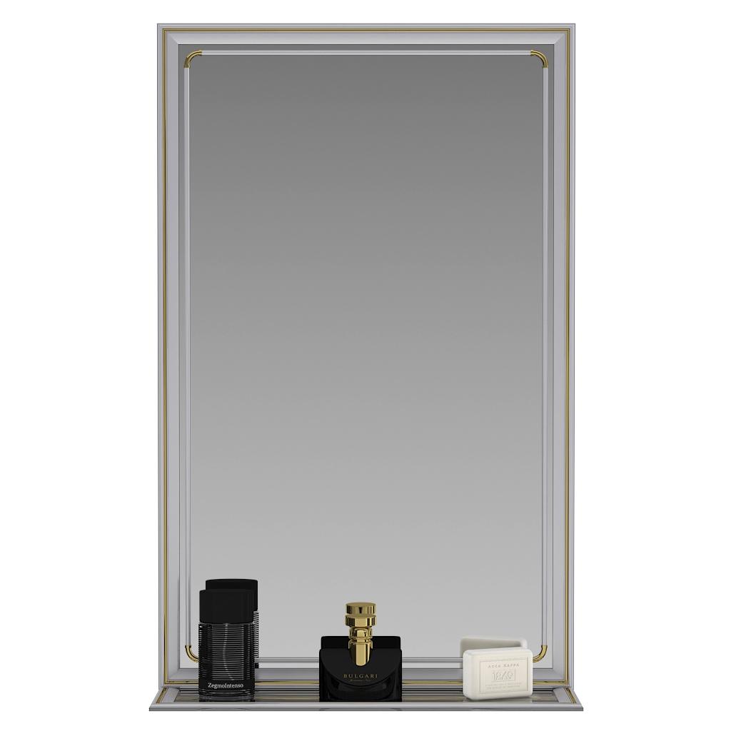 Зеркало ЕвроЗеркало 121П металлик, 50х80 см
