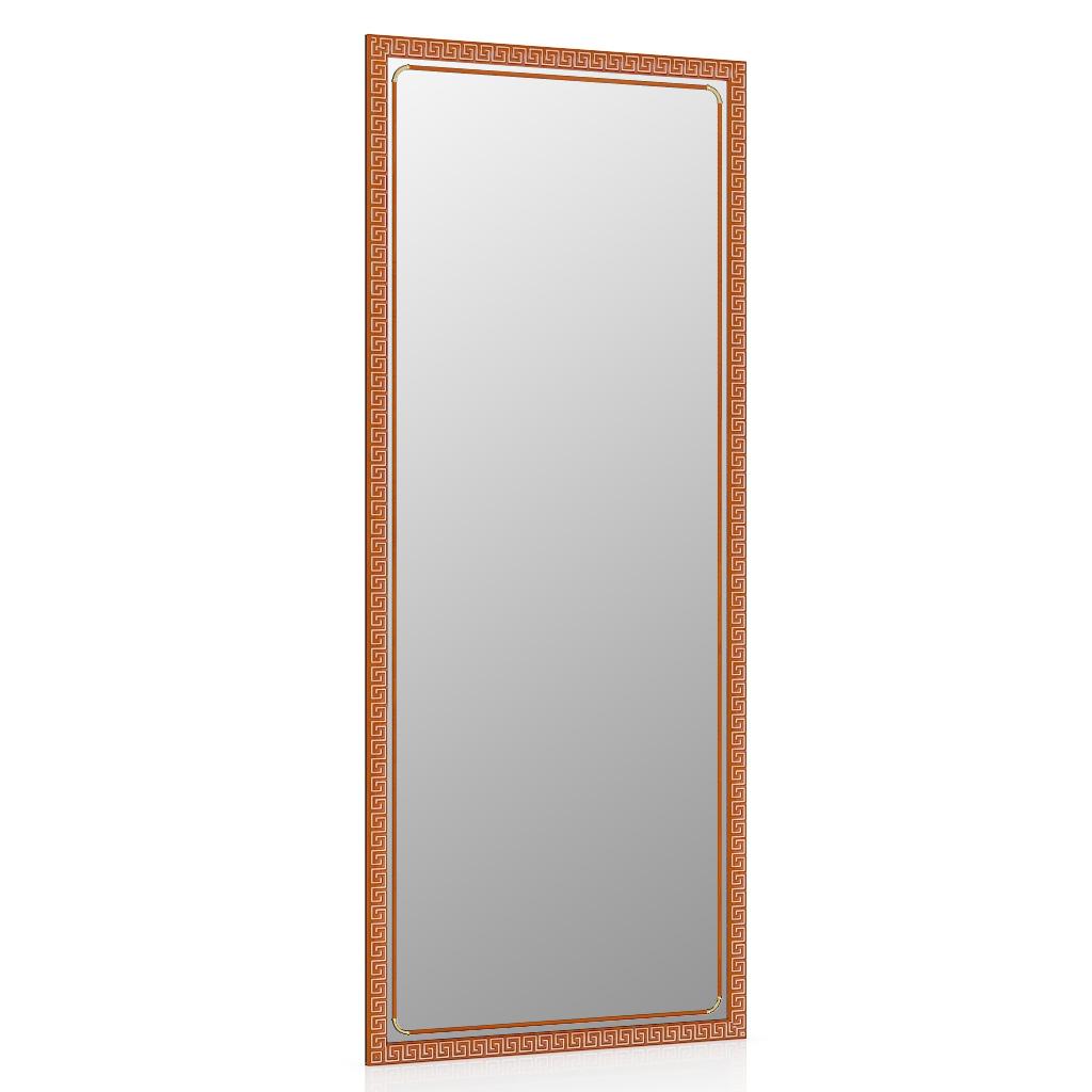 Зеркало ЕвроЗеркало 119Б тёмная вишня, греческий орнамент,