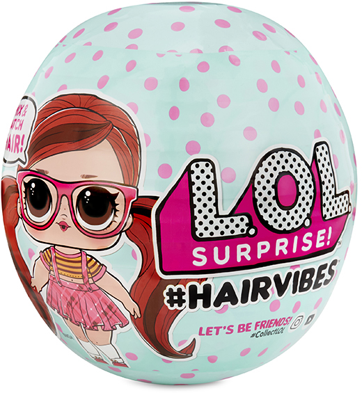 Купить L.O.L. Surprise 564744 Кукла LOL с прядями для причесок в ассортименте, LOL Surprise, Классические куклы