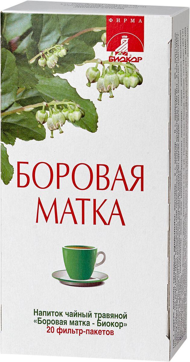 Купить Напиток чайный травяной БОРОВАЯ МАТКА - БИОКОР, 20 пакетов * 2 г, NoBrand