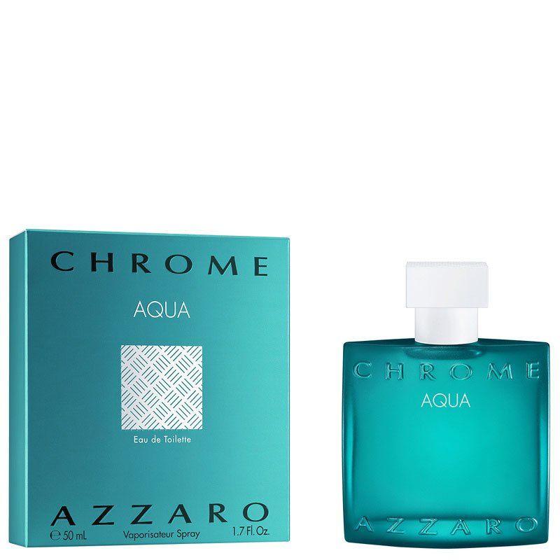 Купить Туалетная вода AZZARO CHROME AQUA Eau de Toilette 50 мл