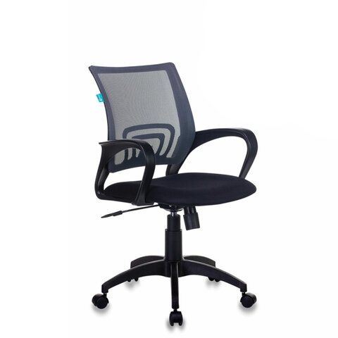 Офисное кресло Бюрократ CH 695N/DG/TW 11, серый/черный