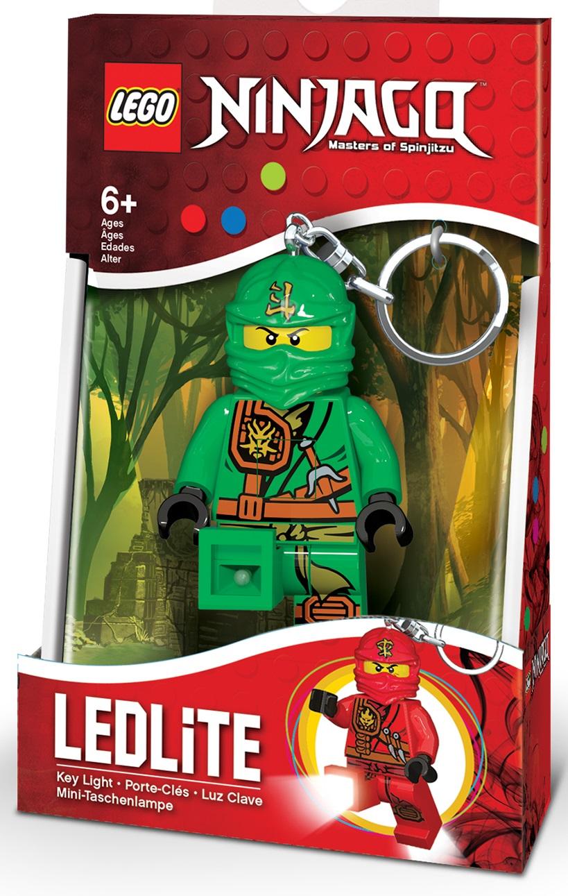 Брелок фонарик для ключей LEGO Ninjago Lloyd