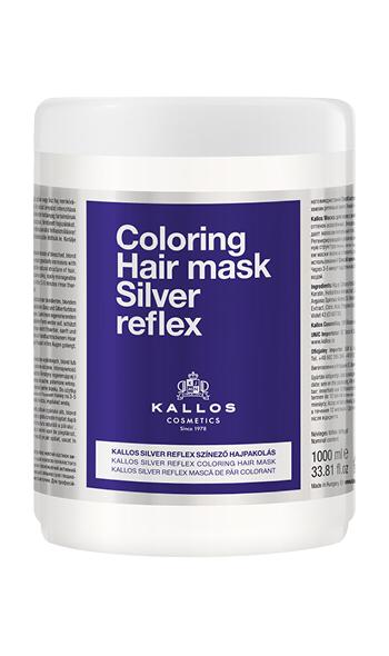 Купить Маска для волос KALLOS Maska Silver Reflex 1000 мл, Kallos Cosmetics